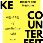 Fake Baby Formula, Diapers and Medicine